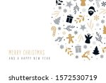 christmas icons elements...   Shutterstock .eps vector #1572530719