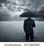 Businessman Standing In The...