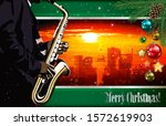 christmas red green... | Shutterstock . vector #1572619903