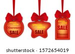 set colorful stickers  labels...   Shutterstock .eps vector #1572654019