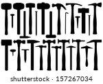 actividad,grande,negro,brad,edificio,carpintero,garra,colección,construcción,diferentes,dibujo,equipo,gráfico,grupo,martillo