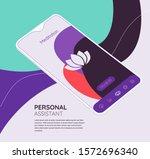 trendy responsive meditation ... | Shutterstock .eps vector #1572696340