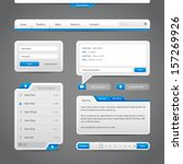 web ui controls elements gray...