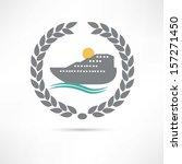 liner icon | Shutterstock .eps vector #157271450