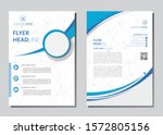 poster flyer pamphlet brochure... | Shutterstock .eps vector #1572805156
