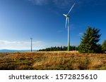 Wind Turbines In Autumn...