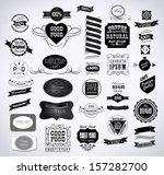 premium quality  guarantee... | Shutterstock .eps vector #157282700