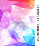 abstract colorful background... | Shutterstock .eps vector #157283594