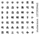 Gdpr Vector Icons Set  Modern...