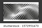 wavy surface with dynamic... | Shutterstock .eps vector #1572951673