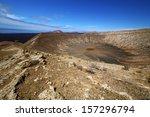 vulcanic timanfaya  rock stone...   Shutterstock . vector #157296794