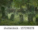 Old Jewish Cemetery In Vienna