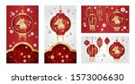 happy chinese new year 2020... | Shutterstock .eps vector #1573006630