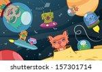 colourful cartoon vector...