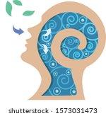 vector of people sleeping or...   Shutterstock .eps vector #1573031473