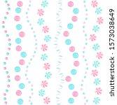 rose and blue sweet sprinkles... | Shutterstock .eps vector #1573038649
