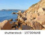 sardinia coast at palau city ... | Shutterstock . vector #157304648