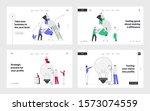 business idea  teamwork... | Shutterstock .eps vector #1573074559