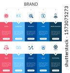brand infographic 10 option ui...