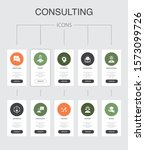 consulting infographic 10 steps ...