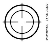 military aiming circle vector... | Shutterstock .eps vector #1573102339