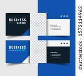 horizontal modern business... | Shutterstock .eps vector #1573114963