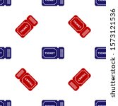blue and red ticket icon... | Shutterstock .eps vector #1573121536
