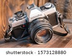 Minolta Xg1 With 50mm Lens. Ol...