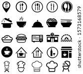 restaurant related vector icon... | Shutterstock .eps vector #1573168579