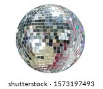 Large mirror ball with multi...