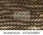 abstract steel chain on a...   Shutterstock .eps vector #1573210003