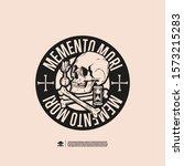 Memento Mori. Design For Print...