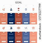 goal infographic 10 option ui...