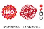 mosaic imo token icon and...   Shutterstock .eps vector #1573250413