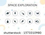 space exploration trendy...