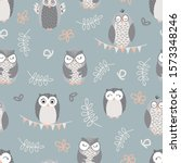 Vector Repeat Pattern With Cute ...
