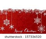 red christmas background....   Shutterstock .eps vector #157336520