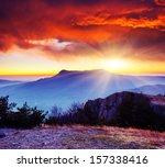 Majestic Morning Mountain...