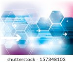 abstract technology background...   Shutterstock .eps vector #157348103