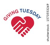 giving tuesday  global day of... | Shutterstock .eps vector #1573553269