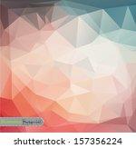 retro geometric pattern | Shutterstock .eps vector #157356224