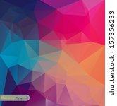 retro geometric pattern | Shutterstock .eps vector #157356233