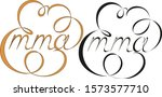 Name Emma  Made In The Vector...