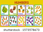 cartoon vegetables and fruits.... | Shutterstock .eps vector #1573578673