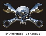 vector metall jolly roger. more ...