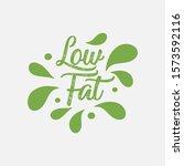 low fat  low carb  low calorie... | Shutterstock .eps vector #1573592116