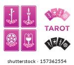 tarot cards | Shutterstock .eps vector #157362554