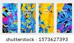 abstract social media template...   Shutterstock .eps vector #1573627393