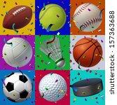 sports celebration seamless... | Shutterstock . vector #157363688