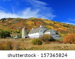 Historic White Barn With...